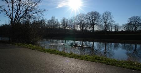 Dortmund-Ems-Kanal Hiltrup. Agentur Signum Michael Lindemann, Münster/Westf.