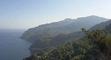 Ebenfalls Blick entlang der Westküste Mallorcas.