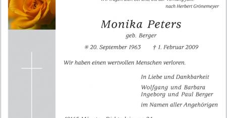 Traueranzeige Tageszeitung Münster